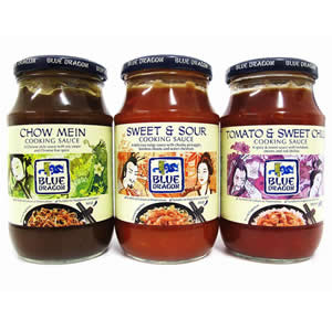 BLUE DRAGON SAUCES, NOODLES,& INGREDIENTS