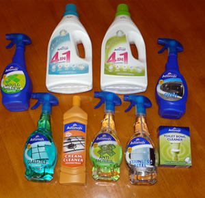A COMPLETE DOMESTIC CLEANING RANGE