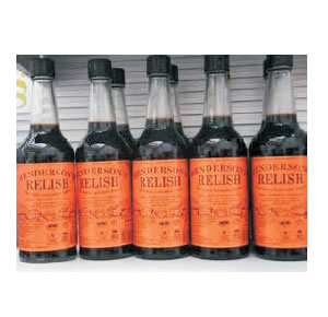 THE FAMOUS HENDERSON'S RELISH